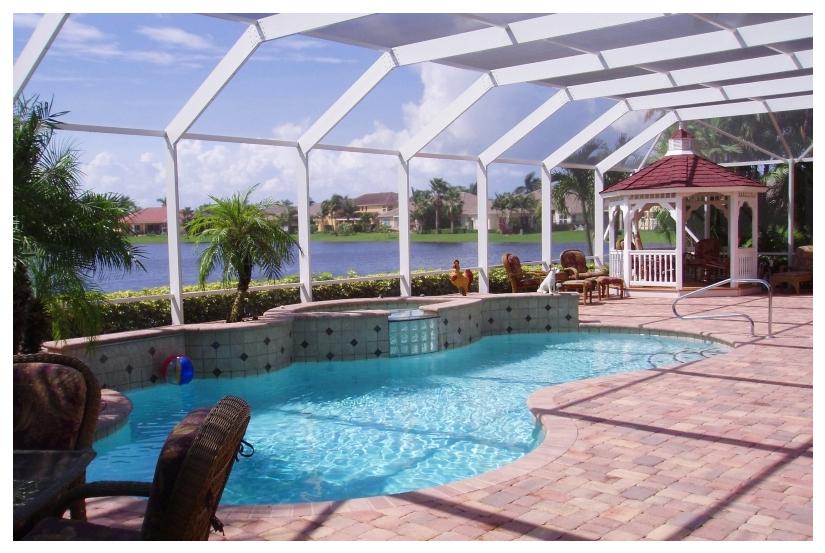 Крыши для бассейнов из москитных сеток. Крытый бассейн из москитного волокна.